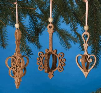 indoor christmas   ornaments scroll  pattern