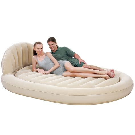 inflatable settee double bed outdoor bedroom daybed lounger airbed inflatable couch