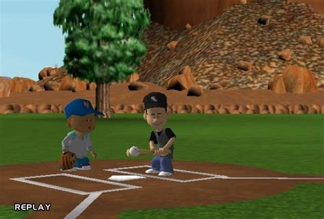 backyard baseball 2005 backyard baseball 2005 screenshots hooked gamers
