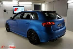 Matte Blue Audi Audi S3 Matte Blue Vinyl Wrap 1 Audi S3 Matte Blue
