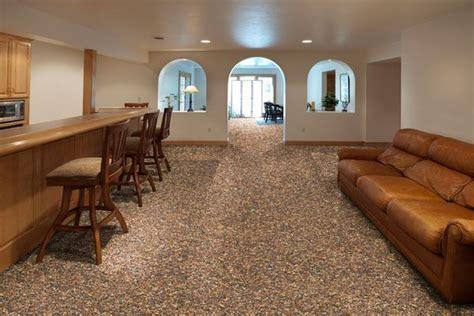 nature basement flooring 122 best images about carpet on pebble floor concrete patios and