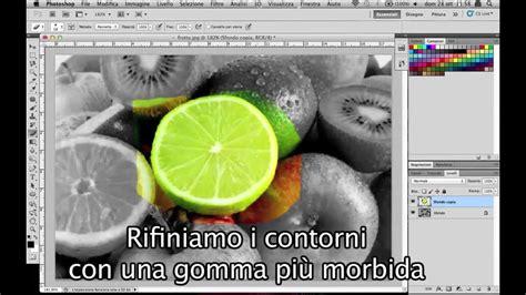 tutorial photoshop cs5 bianco e nero tutorial photoshop cs6 bianco e nero parziale color