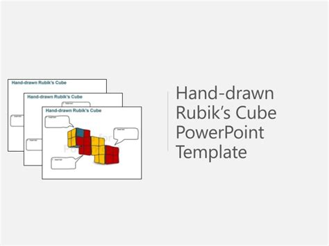 powerpoint cube template rubik s cube powerpoint template