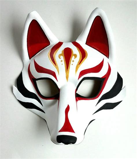 kabuki mask template 25 best ideas about japanese fox mask on