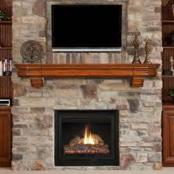 How To Make Fireplace Screen by 72 Abingdon Distressed Medium Oak Finished Fireplace