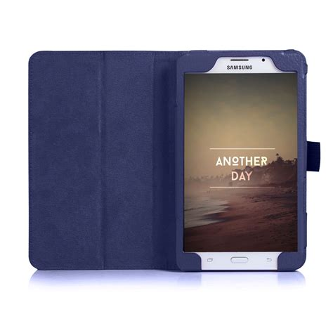Casing Tablet 7 Inci slim leather cover for samsung galaxy tab a 7 0 7 inch tablet sm t280 t285 ebay