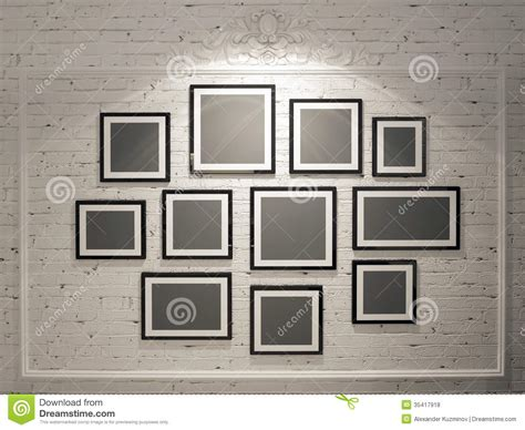 Photo Frame Setting On Wall