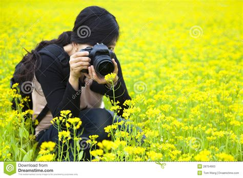 woman photographer  pictures  nature stock