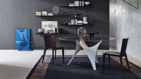 arc l dining table arc tables molteni