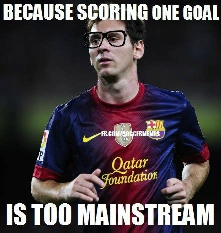 Soccer Player Meme - messi rompiendo records to mainstream soccer memes