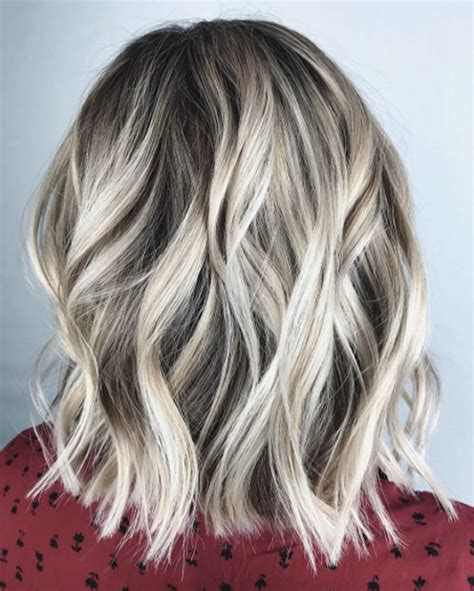 can you balayage shoulder length hair 40 most flattering medium length hairstyles for thin hair