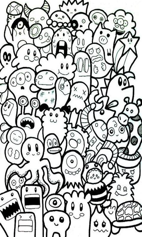 doodle dinding doodle skecth kertas dinding android apps on play