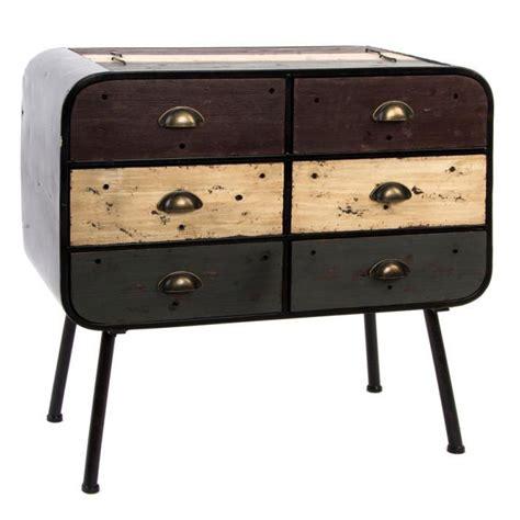 cassettiere vintage cassettiera vintage cassetti legno anticato stile industriale