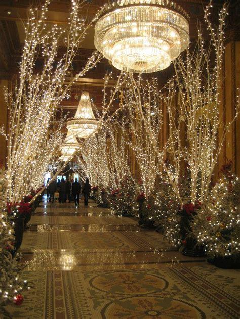 commercial led tree lights roosevelt hotel lobby new orleans commercial lighting
