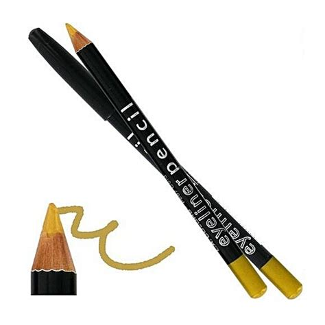 gold color pencil buy l a colors eyeliner pencil gold best price