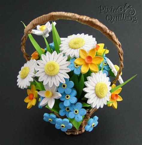 paper quilling basket tutorial 24 best images about quilling baskets on pinterest