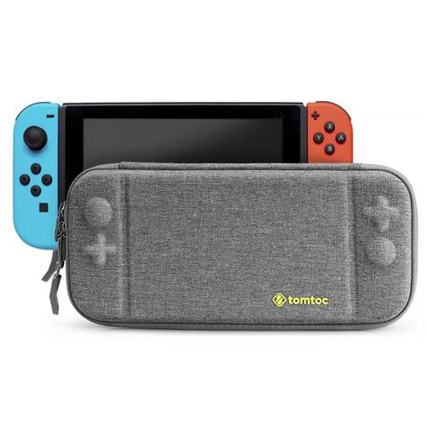Nintendo Switch Grey Bundle 1 Free Pouch And Screen Protector shell
