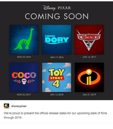 pixar film november 22 2017 tdisnep pixar coming soon finding doorly jun 16 2017 nov
