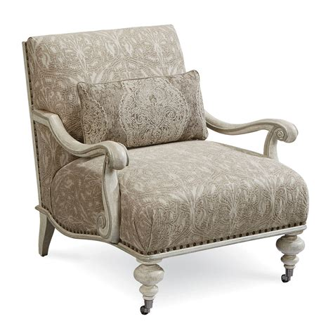 furniture arch salvage upholstery crane accent chair