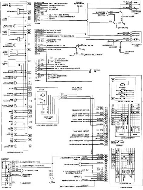 1991 toyota celica instrument cluster wiring diagrams all about wiring diagrams