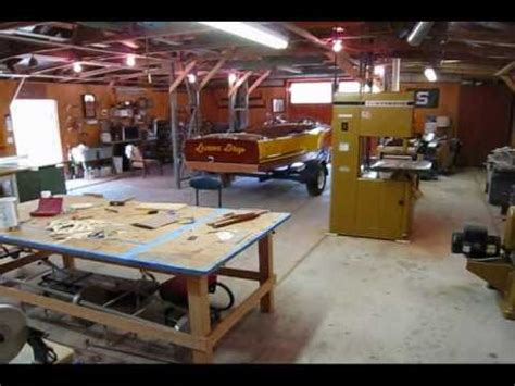 boat shop youtube shop tour wooden boat restoration youtube