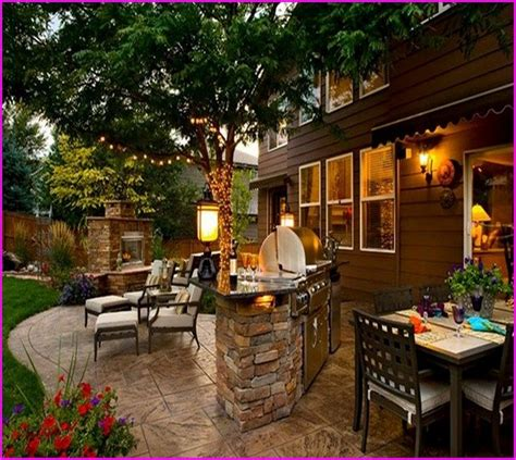 Patio Grill Designs Outdoor Grill Station Home Design Ideas