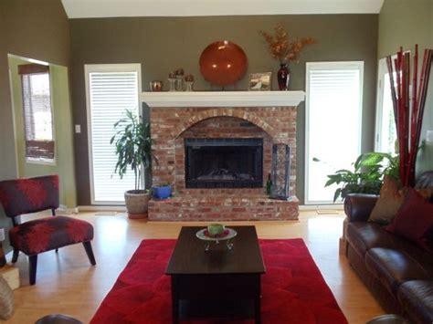 17 best ideas about brick fireplace decor on