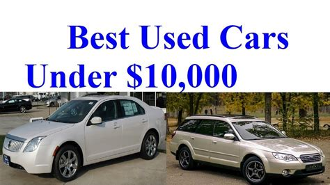 Best 10000 Car by Best Used Cars 10000 Best Car News
