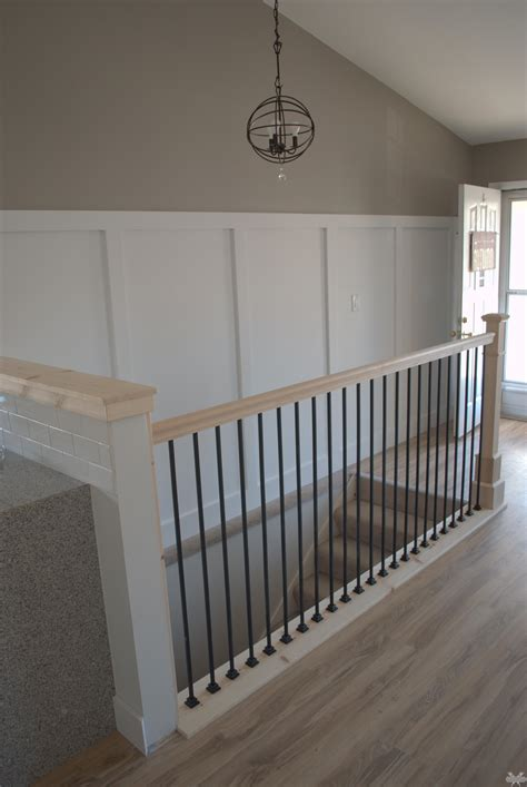 wall banister the half wall railings design interior half wall railing