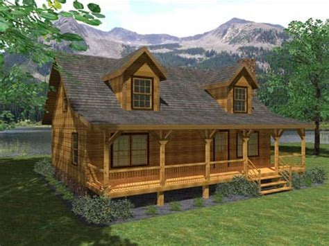 darlington log home plan option a by honest abe log homes