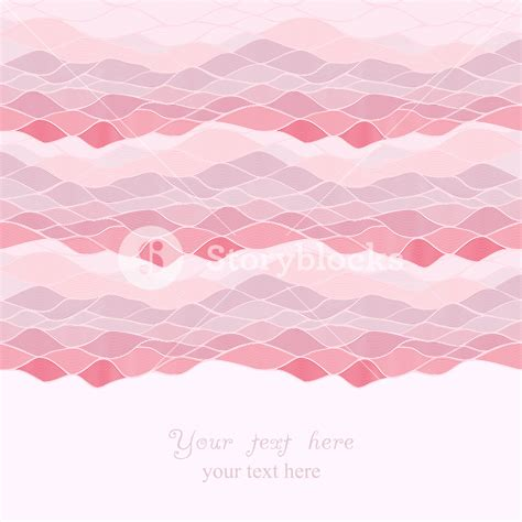 paper card wave template abstract invitation card of waves look like