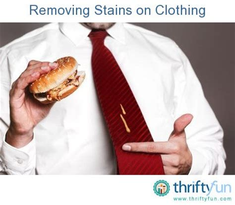 removing mustard stains from clothing thriftyfun