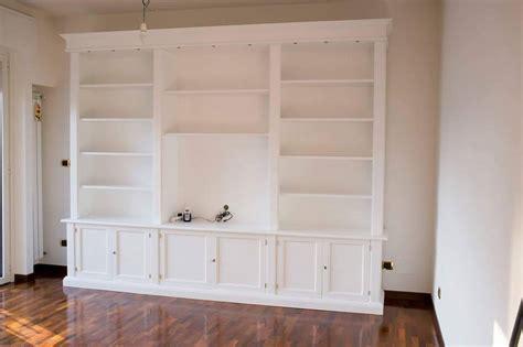 librerie su misura prezzi librerie in legno librerie su misura falegnameriamilano