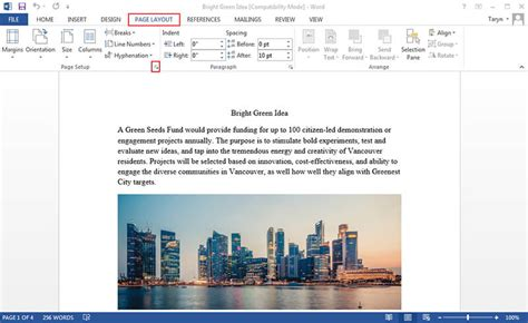 Rotate Word Document