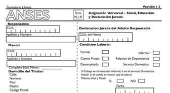 anses asignacion ayuda en diciembre asignaci 243 n universal pasos para presentar el formulario 1
