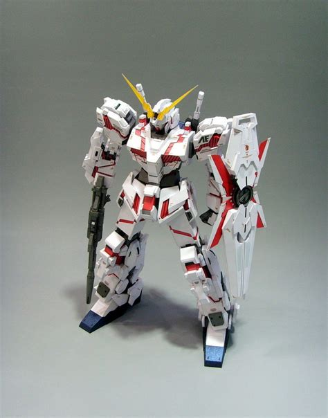 Paper Craft Gundam - papercraftsquare new paper craft rx 0 unicorn gundam