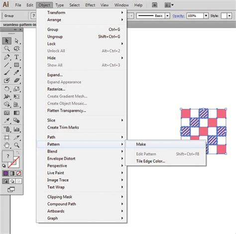tutorial illustrator cs6 10 steps to create seamless pattern with adobe illustrator cs6