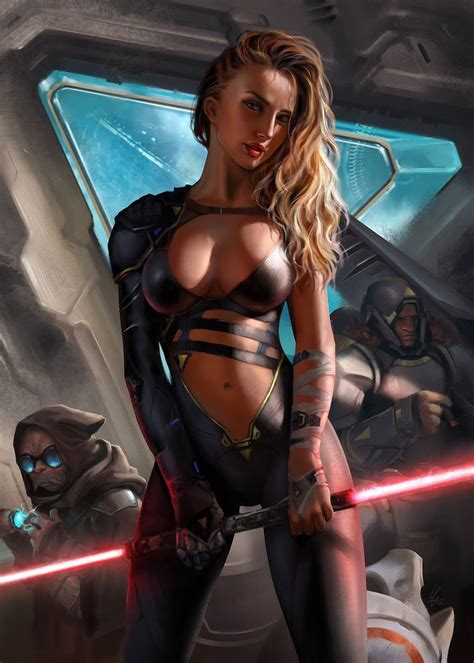 Fantasy star wars sex