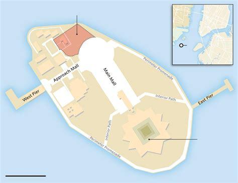 Ellis Park Floor Plan by Statue Of Liberty Museum Building New York E Architect