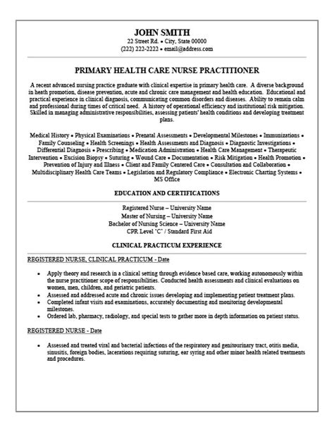 health care nurse practitioner resume template premium