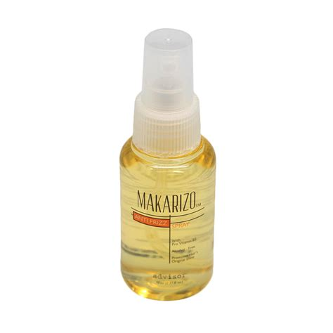 jual makarizo anti frizz spray vitamin rambut 70 ml