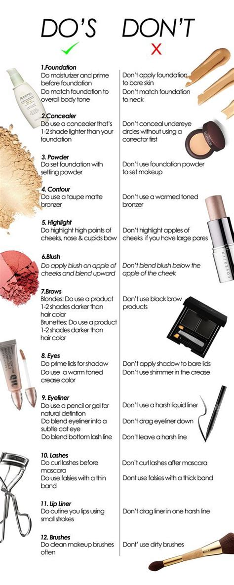 12 Top Makeup Tips For Work by 25 Best Ideas About Makeup Tips On Makeup