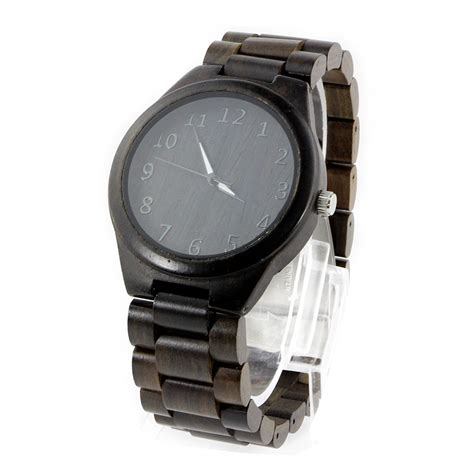 Handmade Leather Watches - wholesale fashion bamboo custom logo we wood wrist