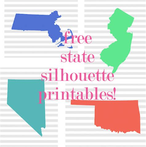 state wall art printable free printables for every state we know how to do it
