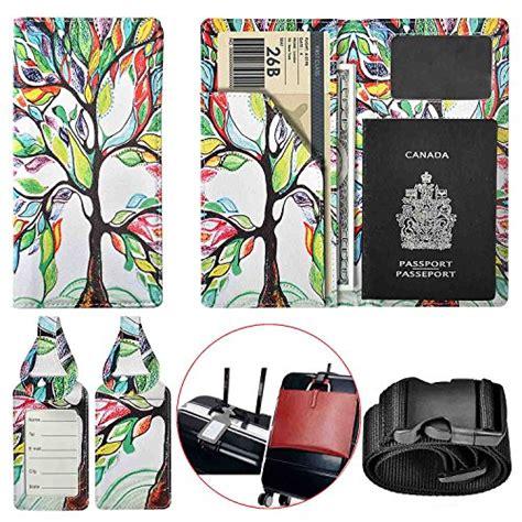Passport Holder Leather Vegtan xeyou passport holder travel wallet vegan leather passport