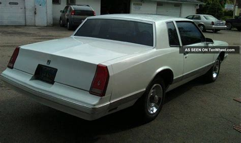 1987 chevrolet monte carlo coupe 2 door 4 3l