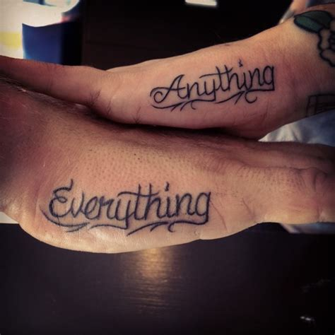 tattoo lettering for couples tattoos for couples lettering cute ideas hand fav