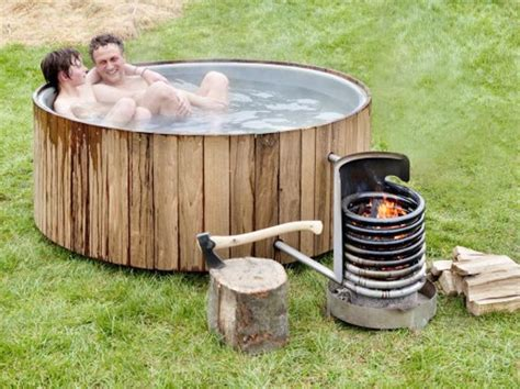 outdoor bathtub wood fired wood fired hot tubs in 32 styles from 75 and up living