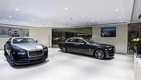 rolls royce motor cars rolls royce motor cars opens showroom in republic