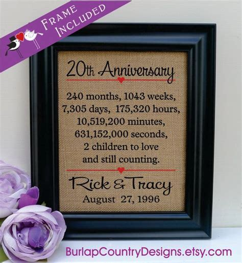 17 Best ideas about 20th Anniversary Wedding on Pinterest